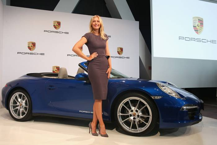 In 2013, Porsche unveiled Maria Sharapova as a new Brand Ambassador. It is natural for a high performance vehicle to align itself with a high performing athlete. Both are recognized for superior ability.