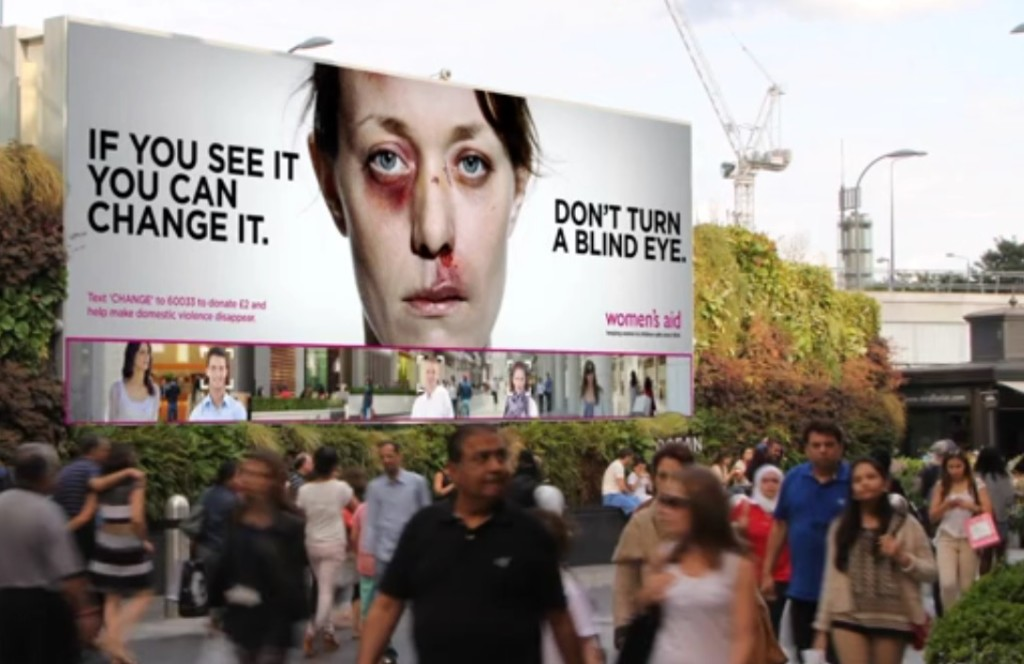 wcrs domestic violence billboard