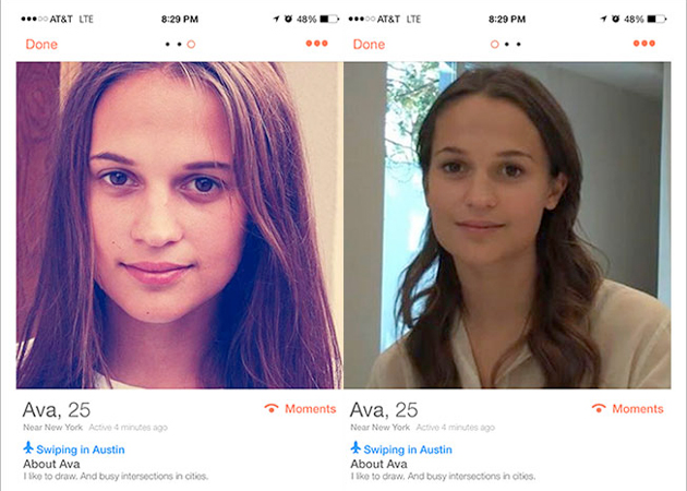 ex machina tinder