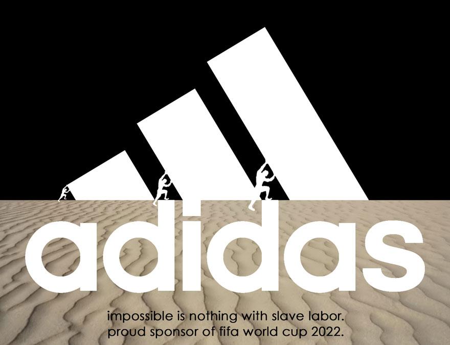 qatar adidas antilogo world cup
