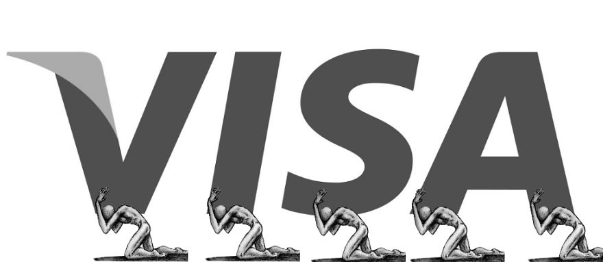 qatar world cup visa anti logo