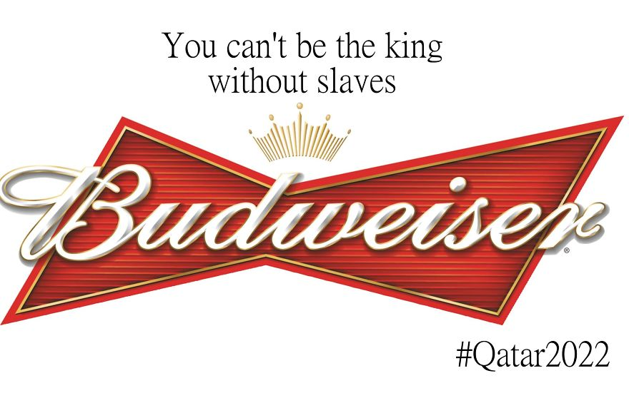 qatar budweiser antilogo world cup