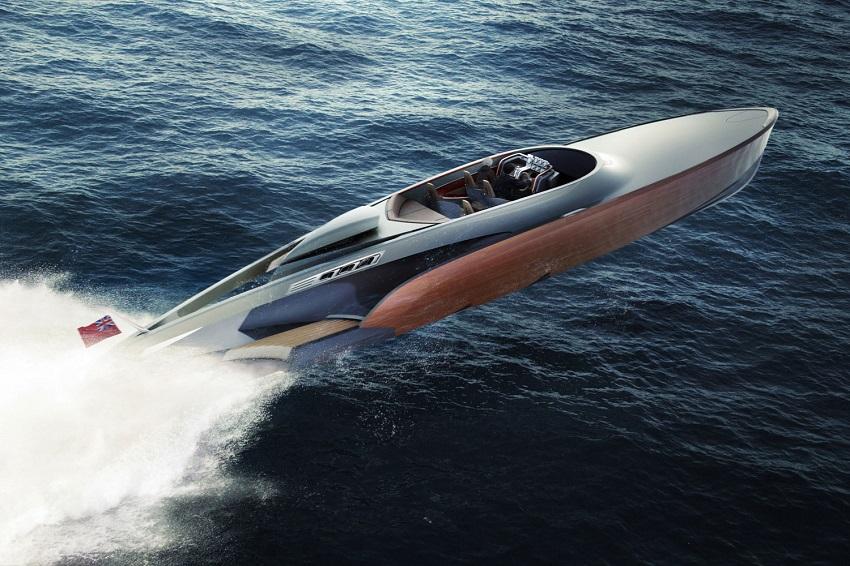 Aeroboat speedboat