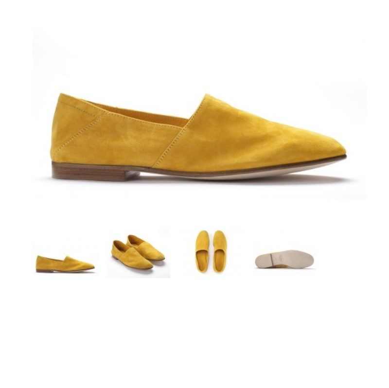 arno by mr hare mustard yellow