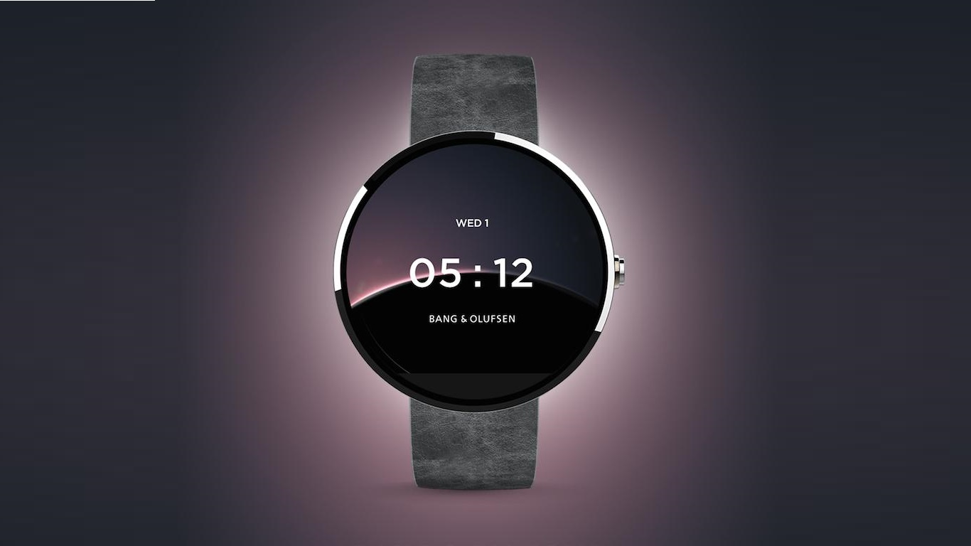 bang olufsen smartwatch google partnership