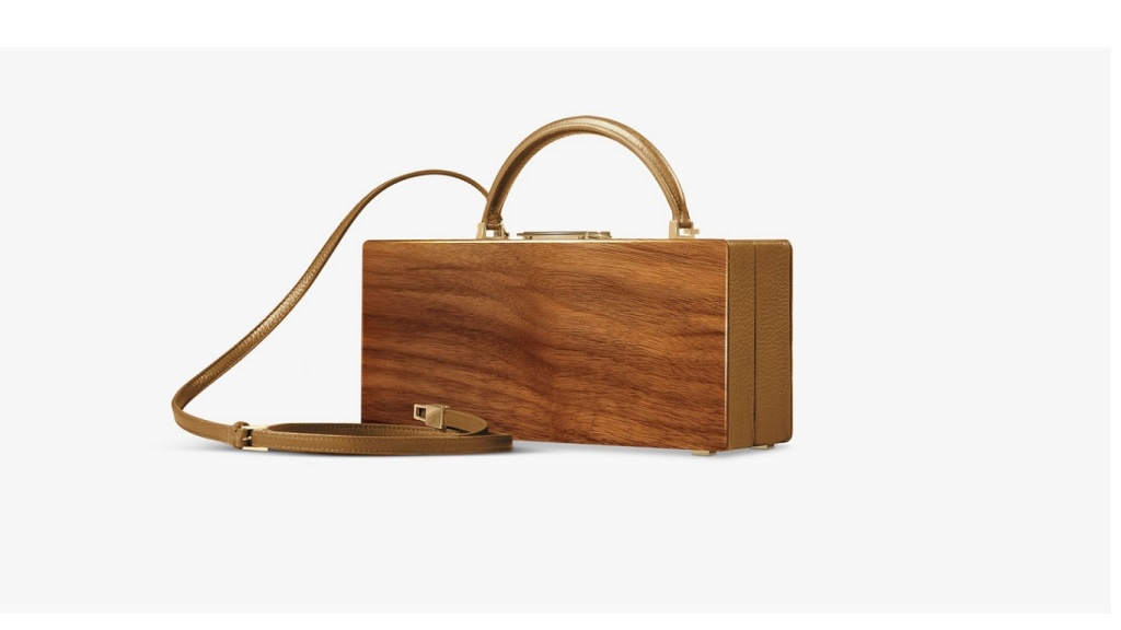 buwood wood handbag walnut