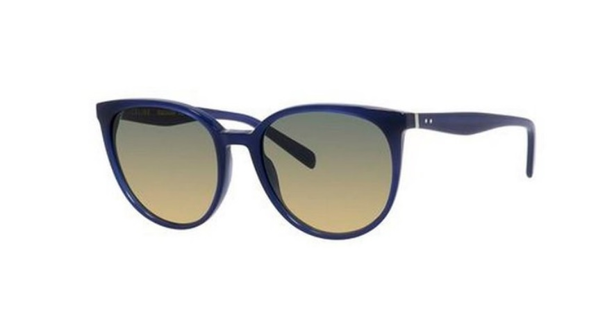 celine thin mary sunglasses blue