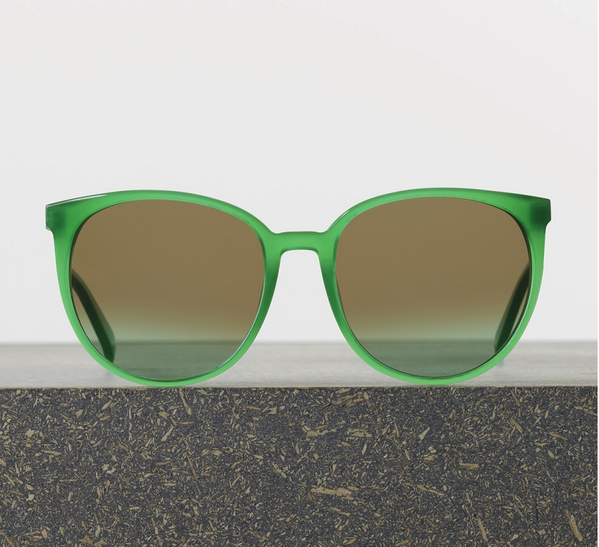 celine thin mary sunglasses green