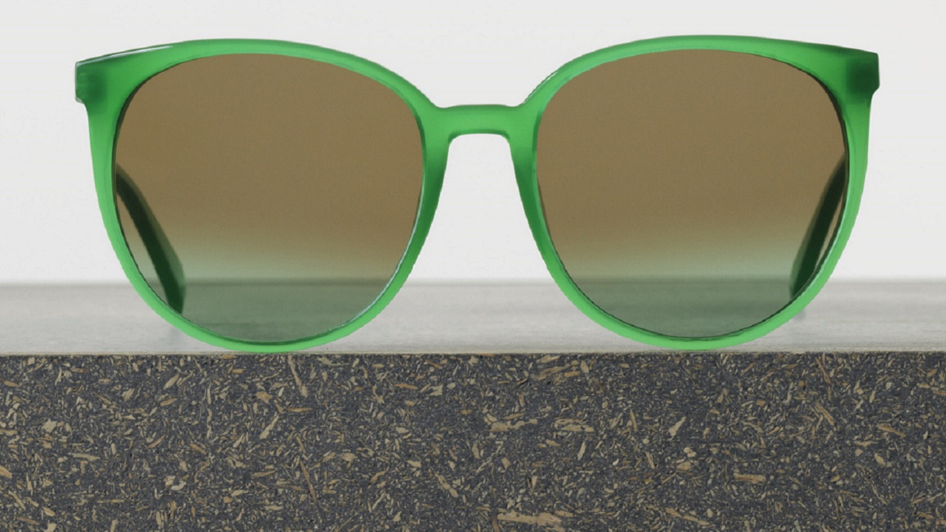 celine thin mary sunglasses opal green