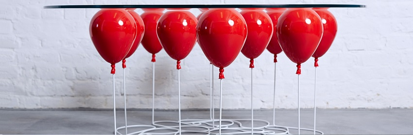 christopher duffy UP balloon coffee table