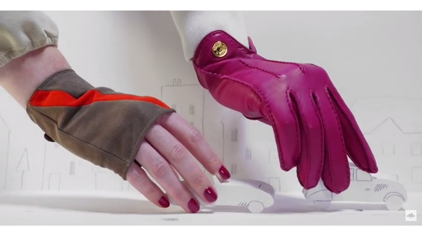 hermes womens gloves ss 2015