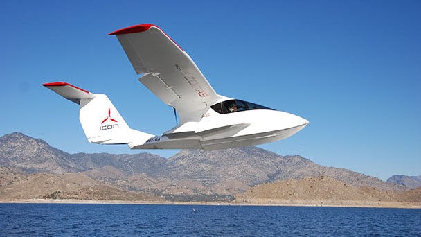icon a5 sport flying flight