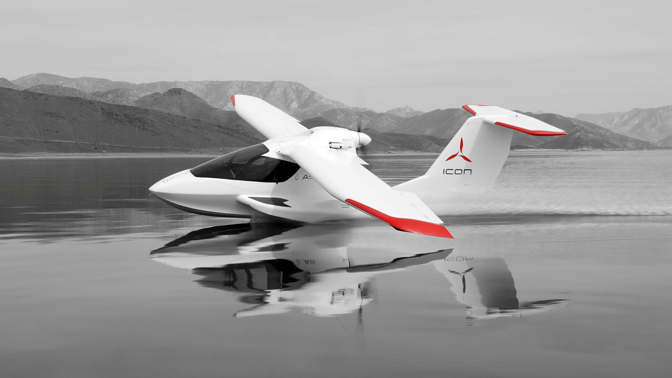 icon a5 sport flying