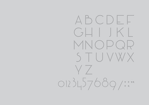 manifesto font alphabet