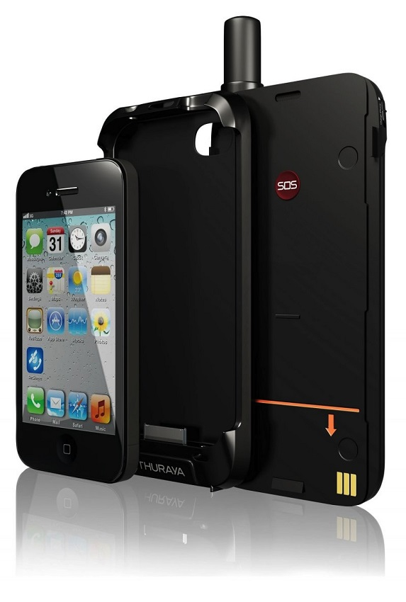 satsleeve thuraya android iphone sat phone
