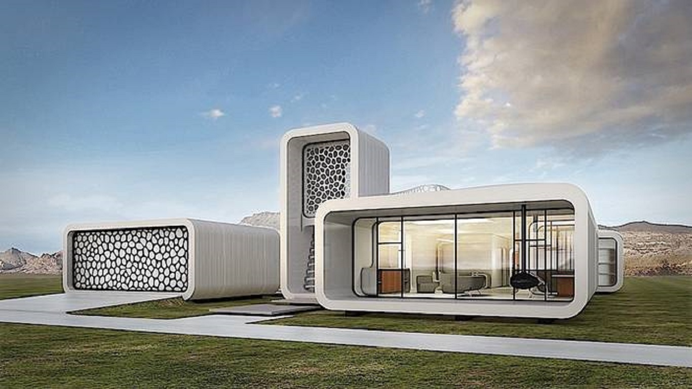 dubai making 3D-printed buildings reality