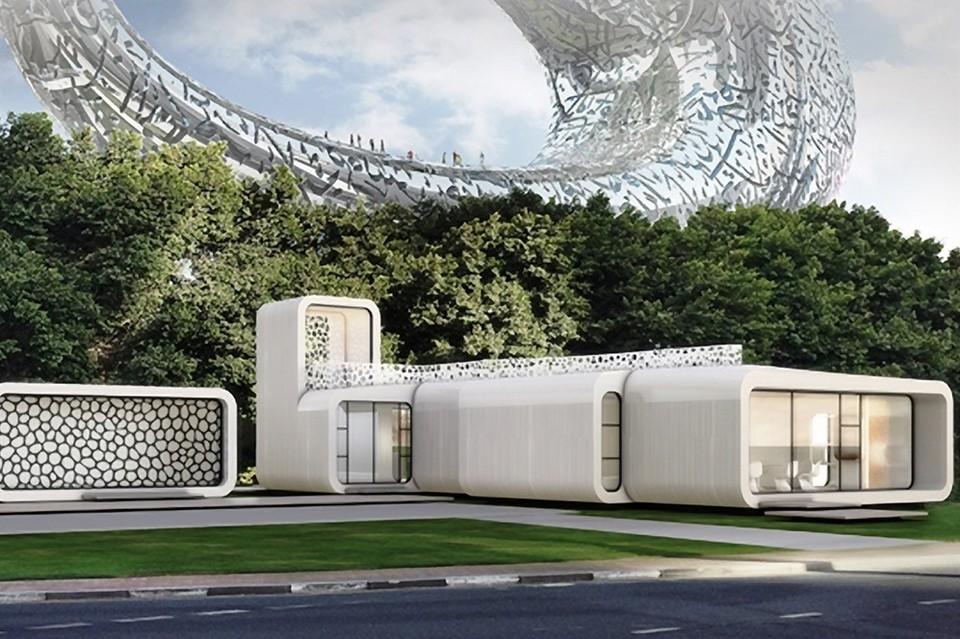 Dubai Making 3D-Printed Buildings