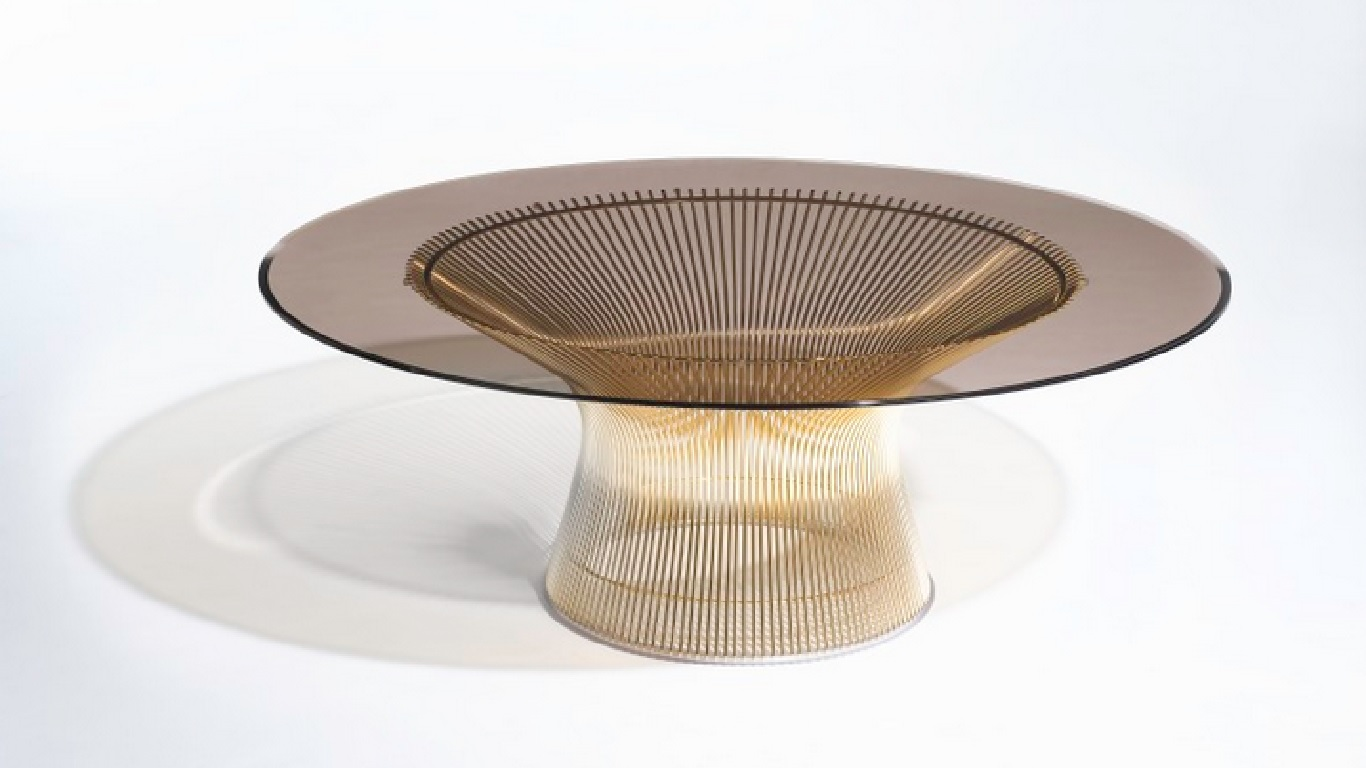 knoll 50th anniversary gold plated