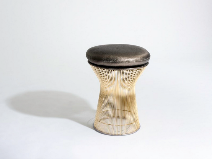 knoll platner golden 50th anniversary stool