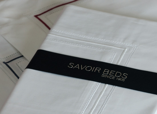 savoir beds bespoke luxury sheets