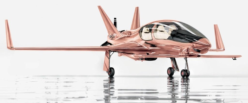 rose_gold_private_plane