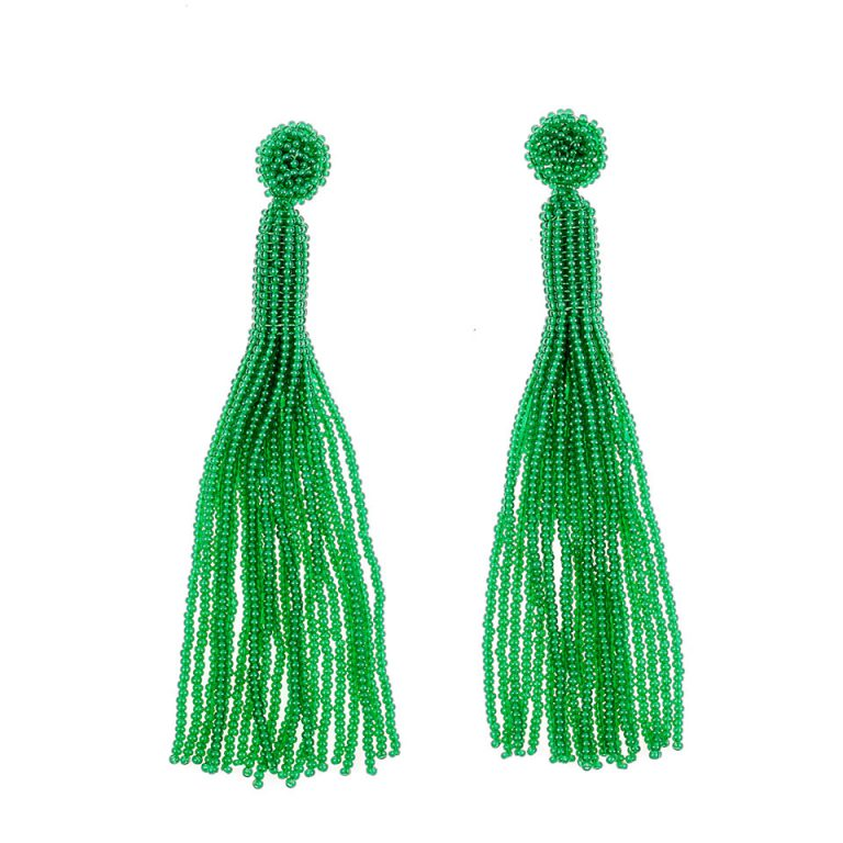 Arete Oscar Verde by Makua Jewelry. $90 US.