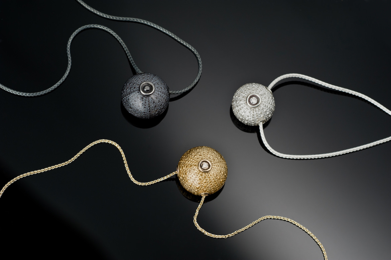 Barbara jardin jewelry sea urchin joy donnell official for Jardin francais jewelry