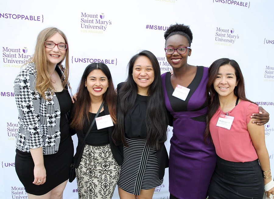 All smiles and camaraderie at MSMU Women's Leadership Conference 2017